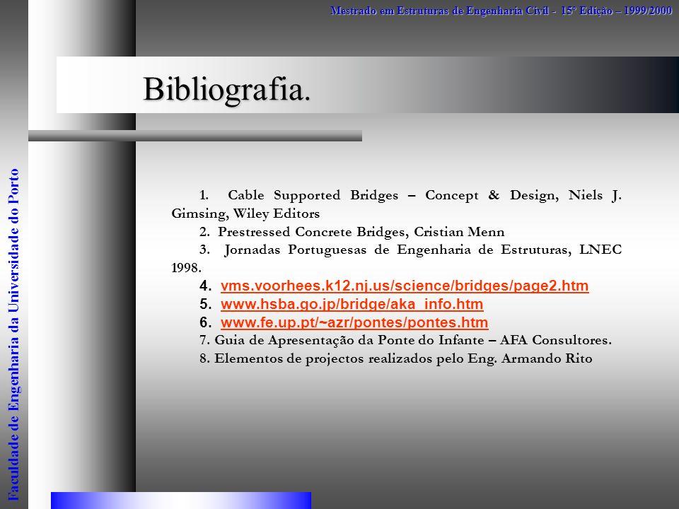 Mestrado em Estruturas de Engenharia Civil - 15º Edição – 1999/2000