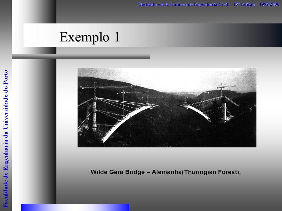 Wilde Gera Bridge – Alemanha(Thuringian Forest).