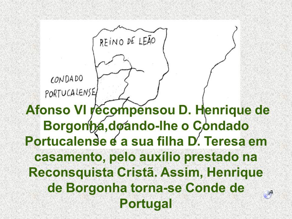 Afonso VI recompensou D
