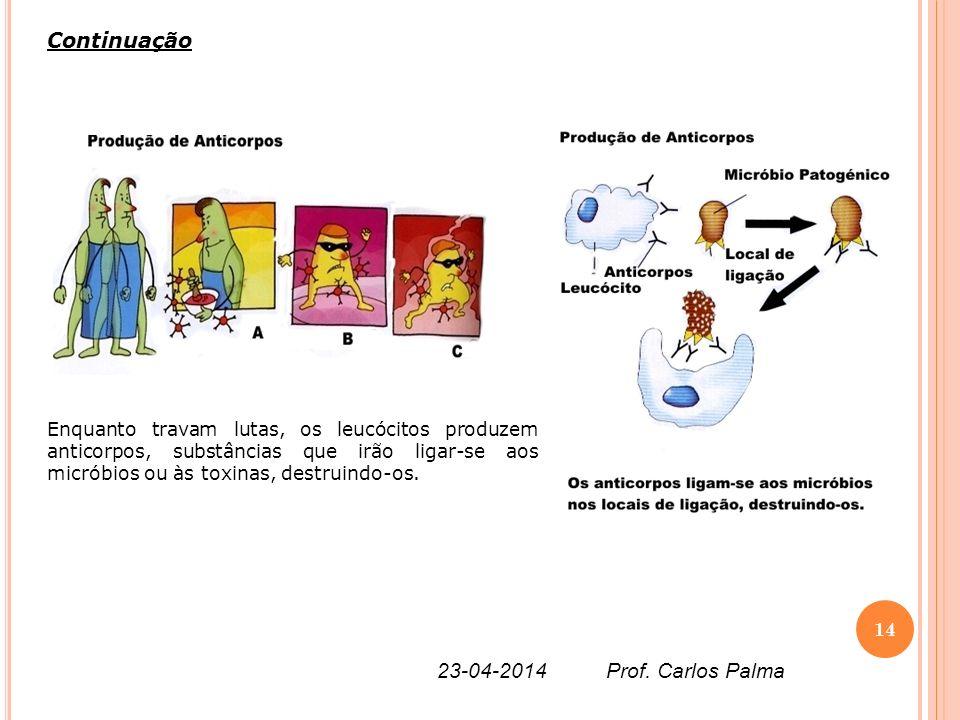 Continuação 26-03-2017 Prof. Carlos Palma