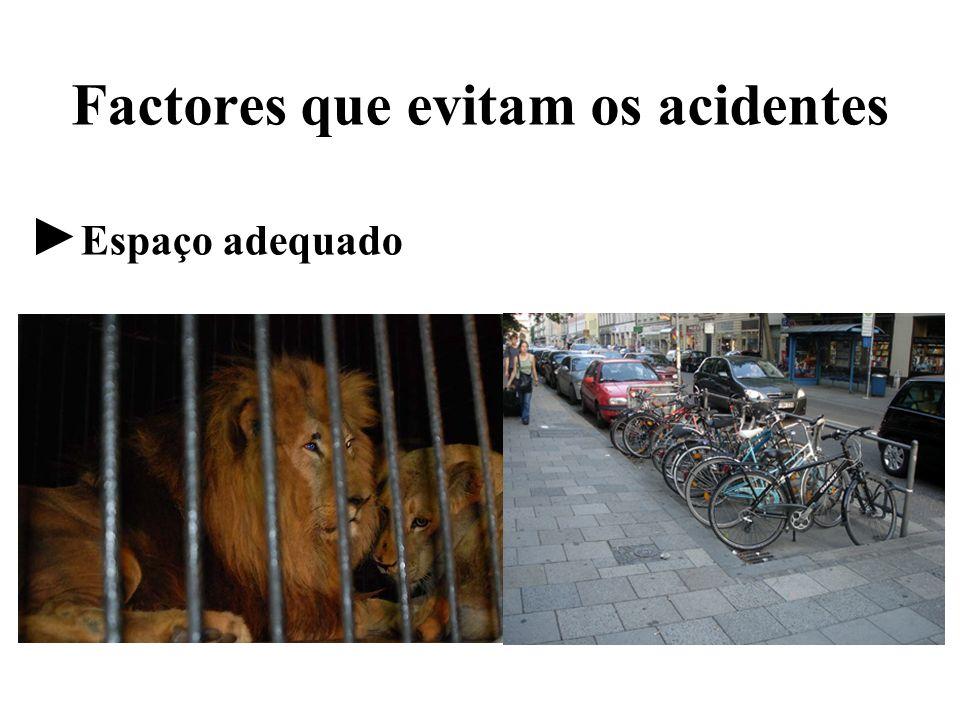 Factores que evitam os acidentes
