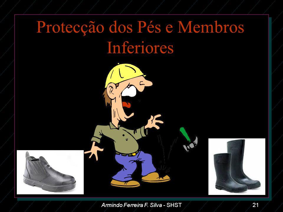Protecção dos Pés e Membros Inferiores