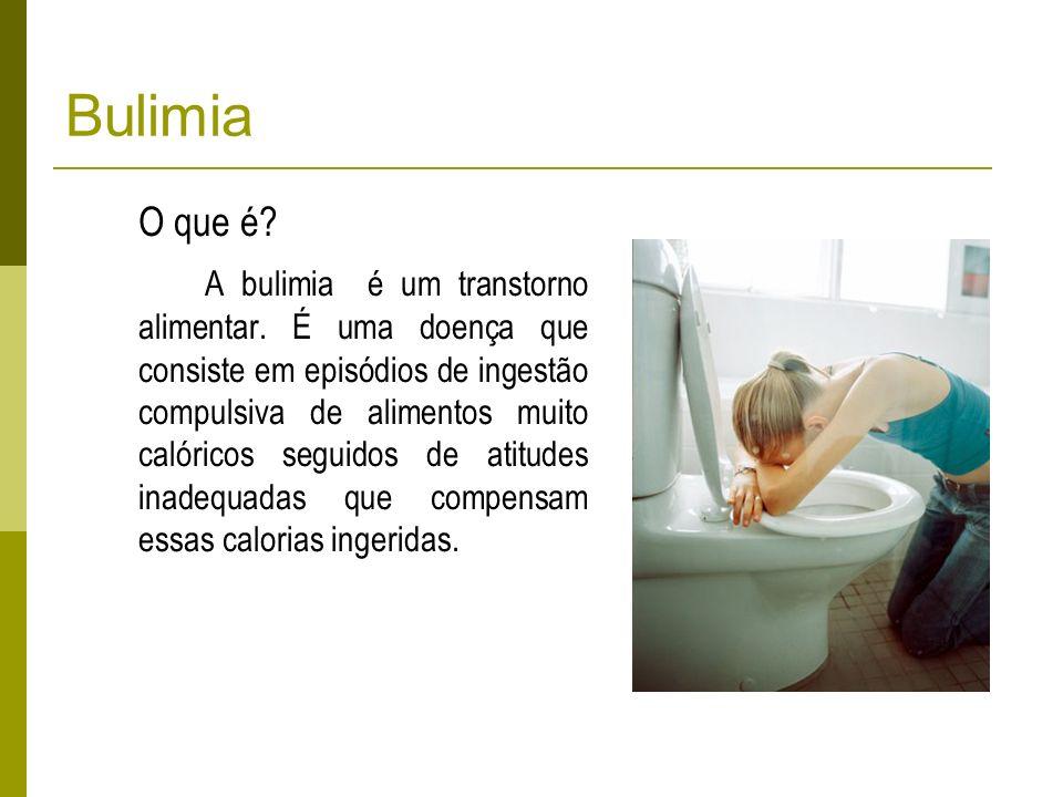 Bulimia O que é
