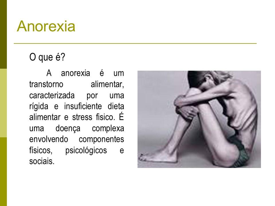 Anorexia O que é