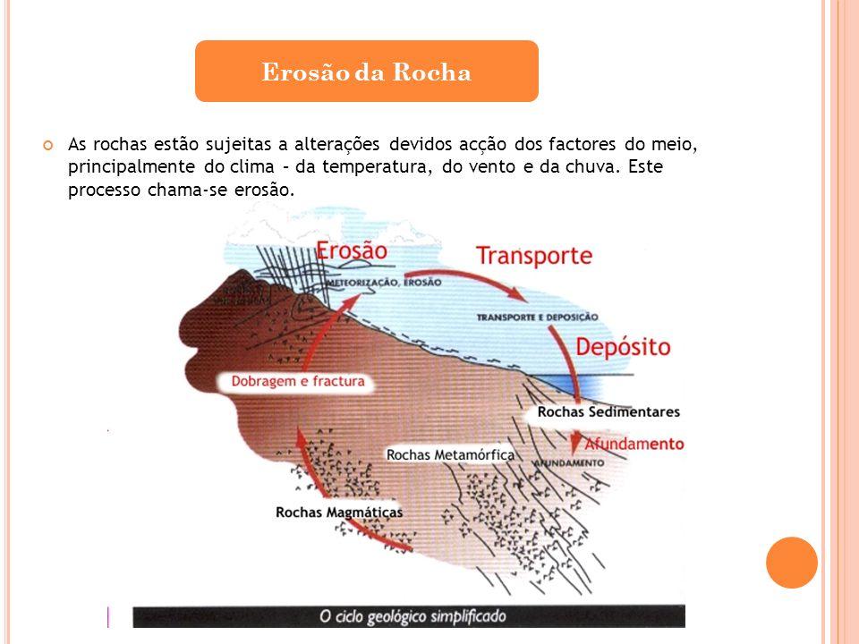 Erosão da Rocha