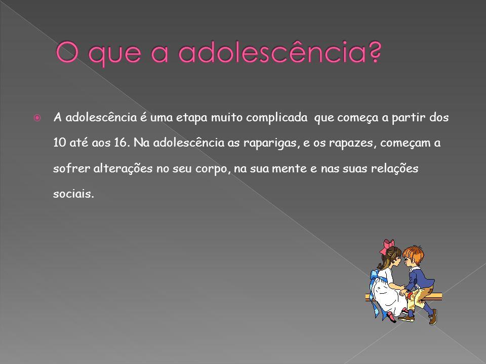 O que a adolescência