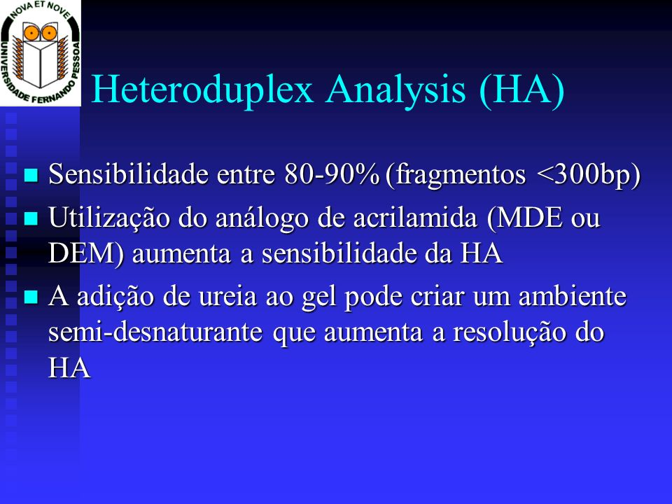Heteroduplex Analysis (HA)