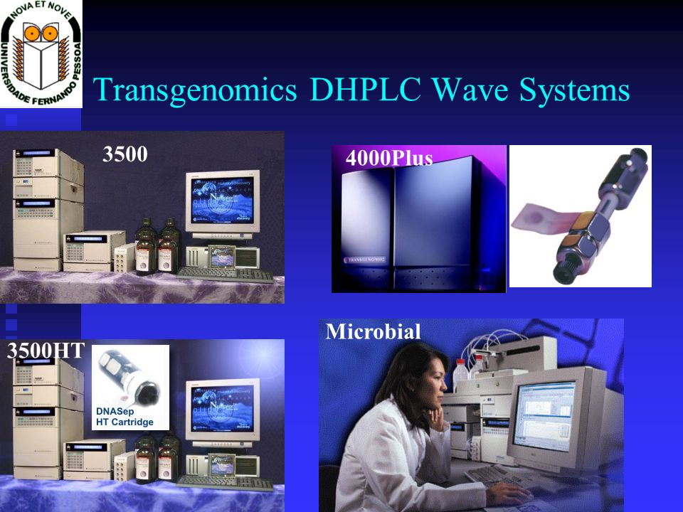 Transgenomics DHPLC Wave Systems