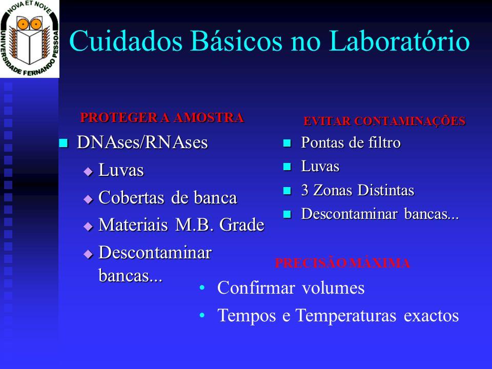Cuidados Básicos no Laboratório