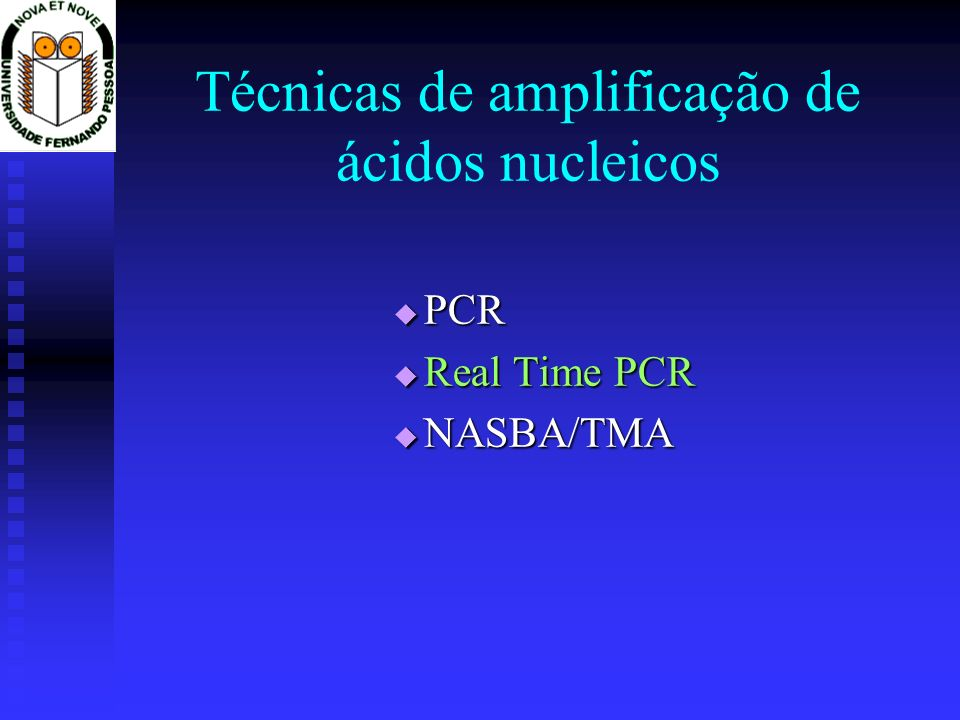 Técnicas de amplificação de ácidos nucleicos