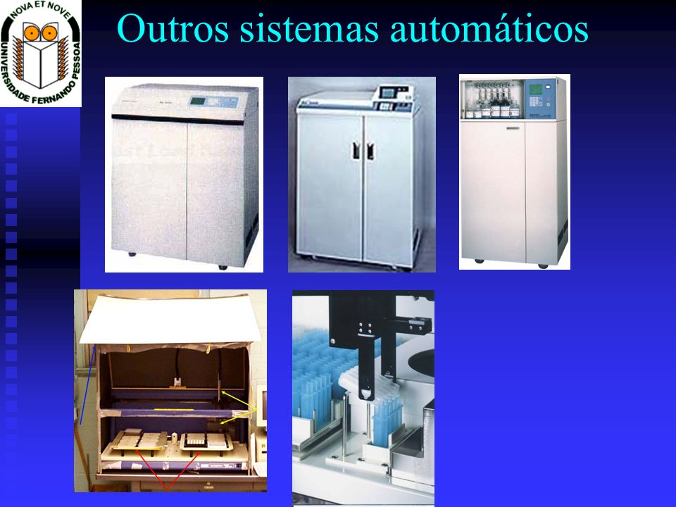 Outros sistemas automáticos