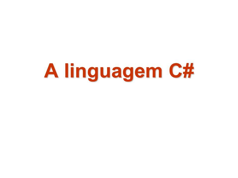 A linguagem C#