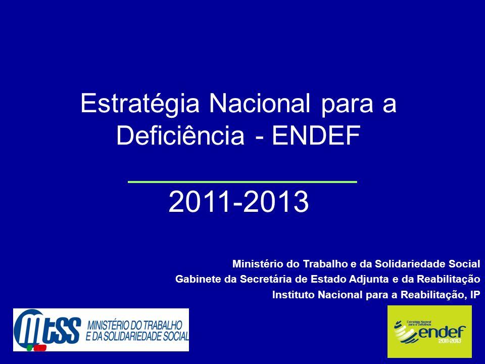 Estratégia Nacional para a Deficiência - ENDEF