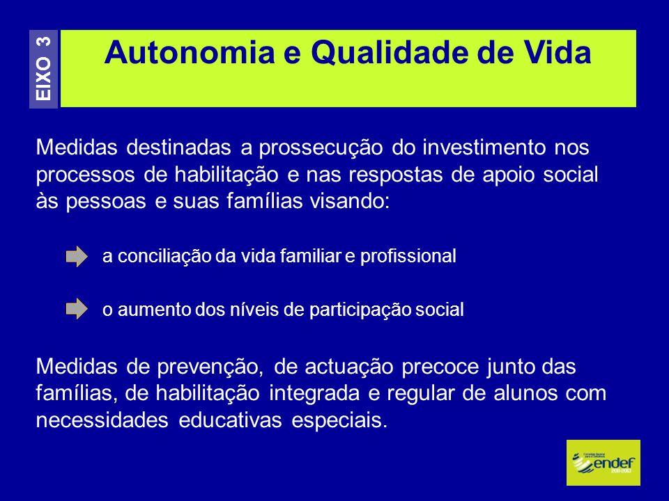 Autonomia e Qualidade de Vida