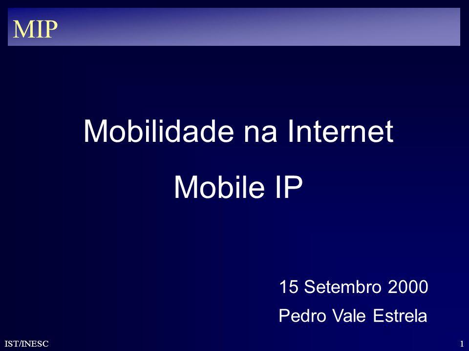 Mobilidade na Internet