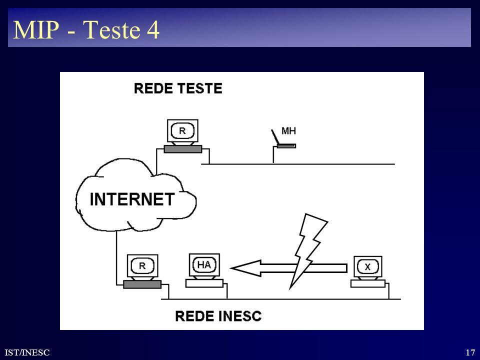 MIP - Teste 4 IST/INESC