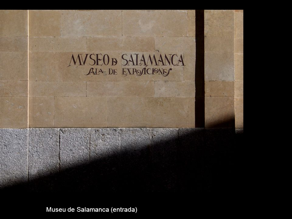 Museu de Salamanca (entrada)