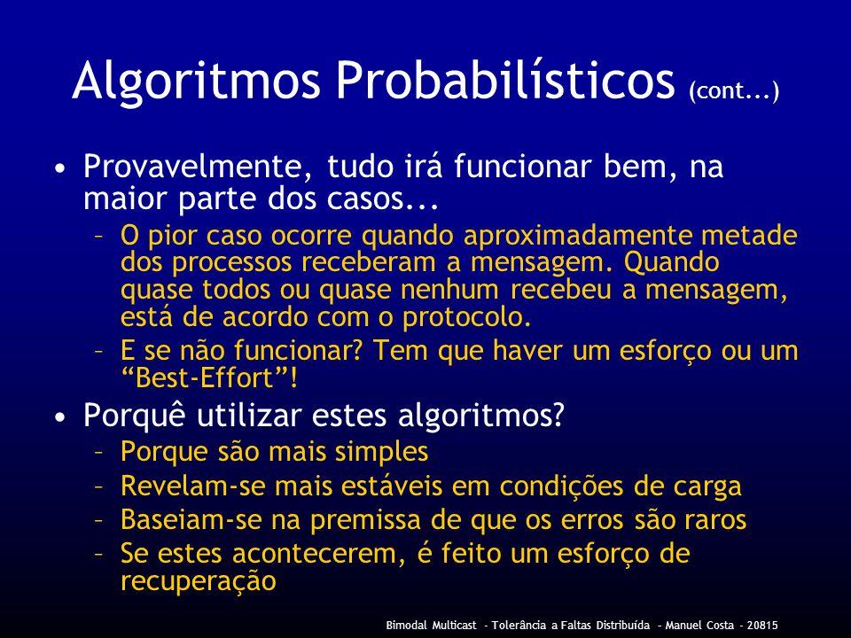Algoritmos Probabilísticos (cont...)