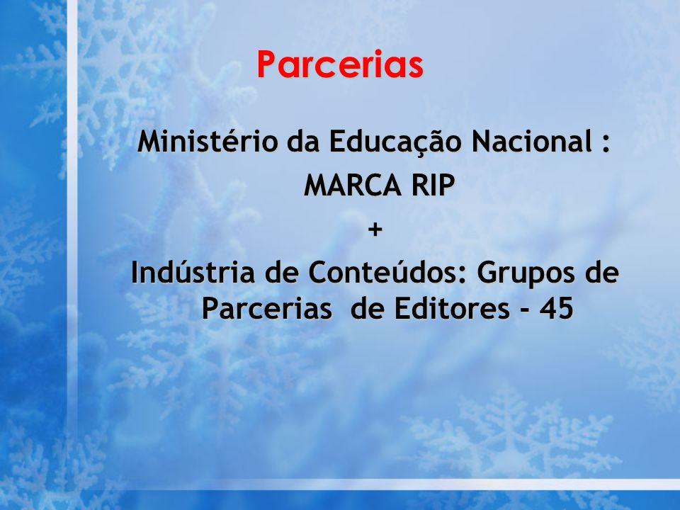 Parcerias Ministério da Educação Nacional : MARCA RIP +
