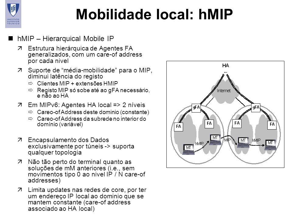 Mobilidade local: hMIP