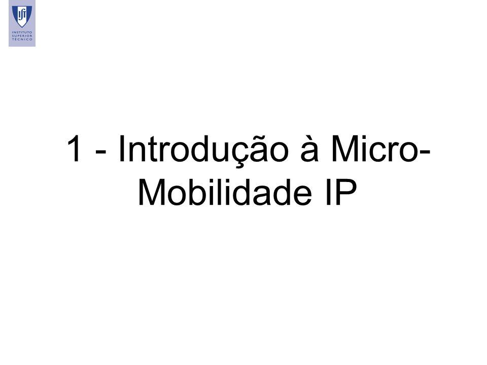 1 - Introdução à Micro-Mobilidade IP