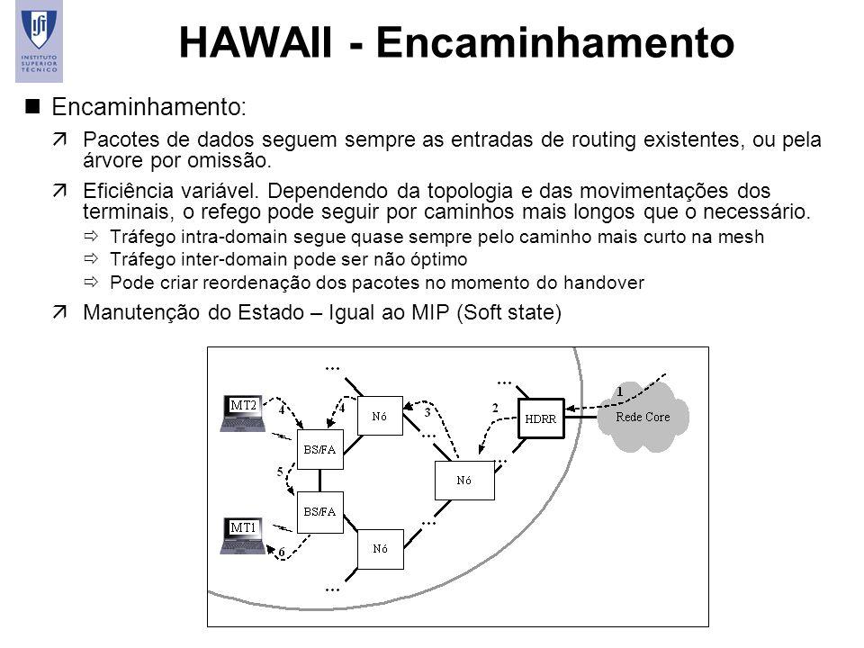 HAWAII - Encaminhamento