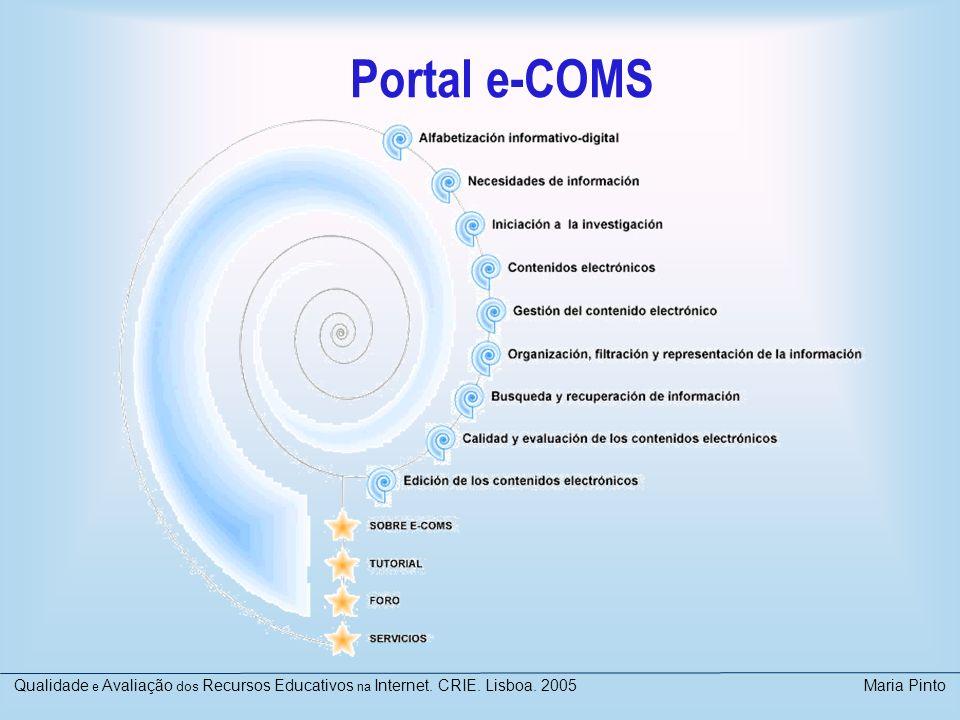 Portal e-COMS