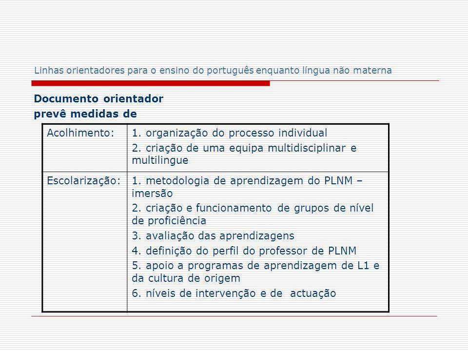 1. organização do processo individual