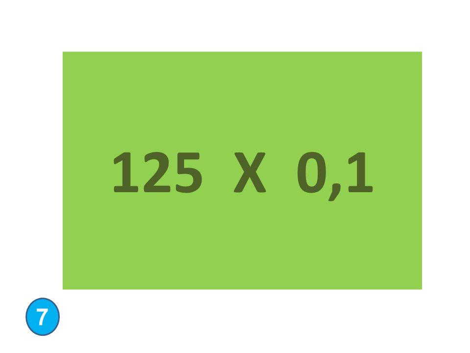 125 X 0,1 7