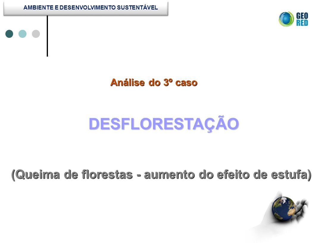AMBIENTE E DESENVOLVIMENTO SUSTENTÁVEL