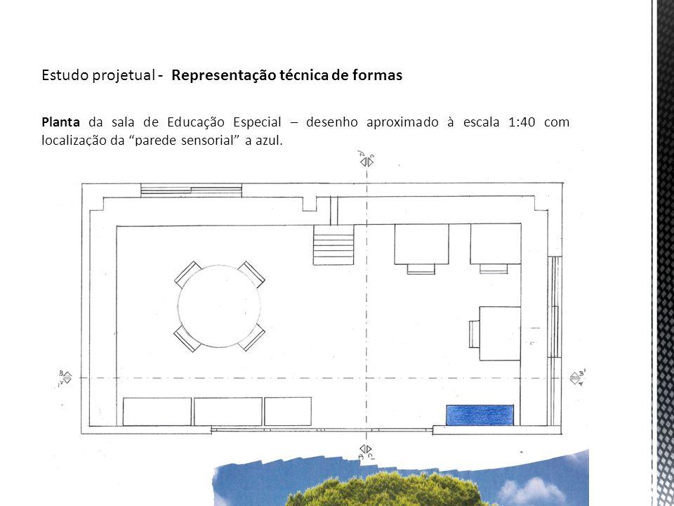Estudo projetual - Representação técnica de formas