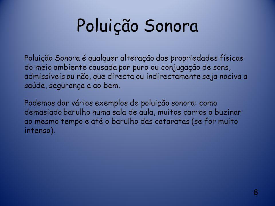 Poluição Sonora