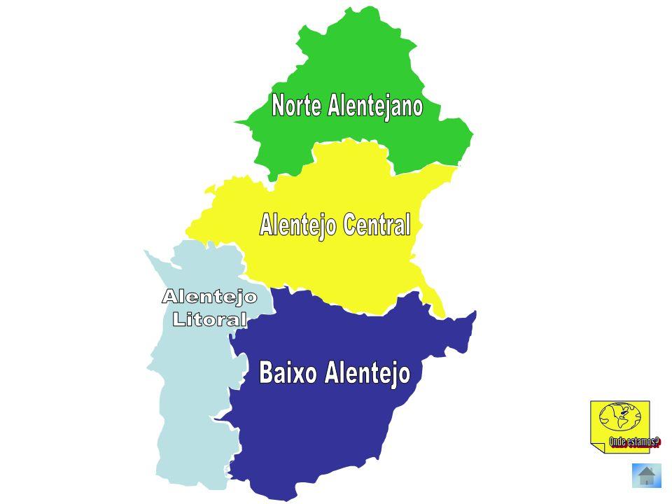 Norte Alentejano Alentejo Central Alentejo Litoral Baixo Alentejo Onde estamos