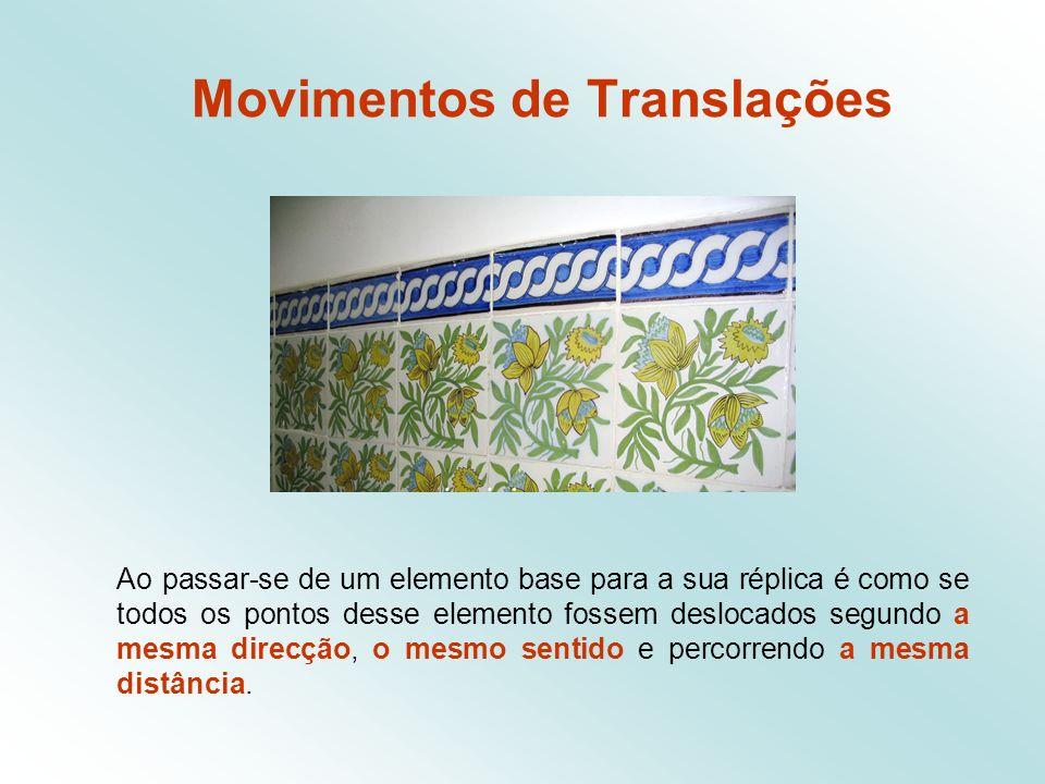Movimentos de Translações