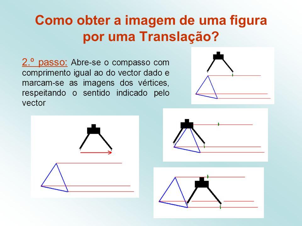 Como obter a imagem de uma figura por uma Translação