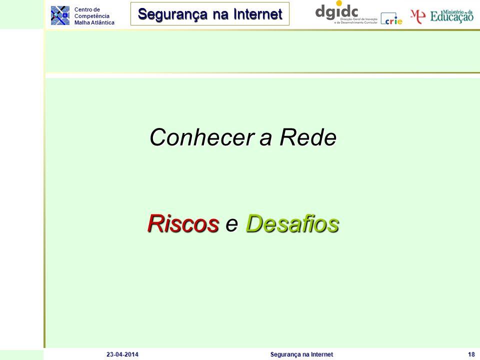 Conhecer a Rede Riscos e Desafios