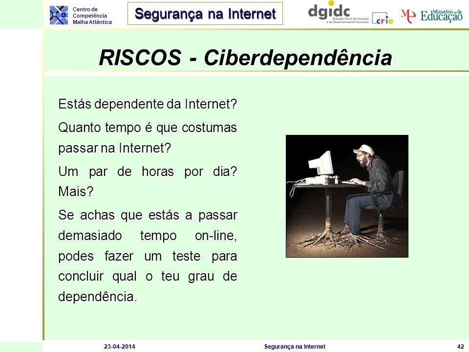 RISCOS - Ciberdependência
