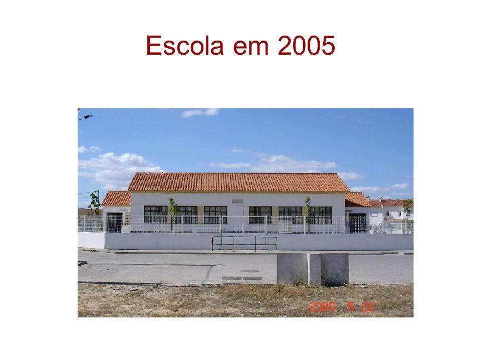 Escola em 2005