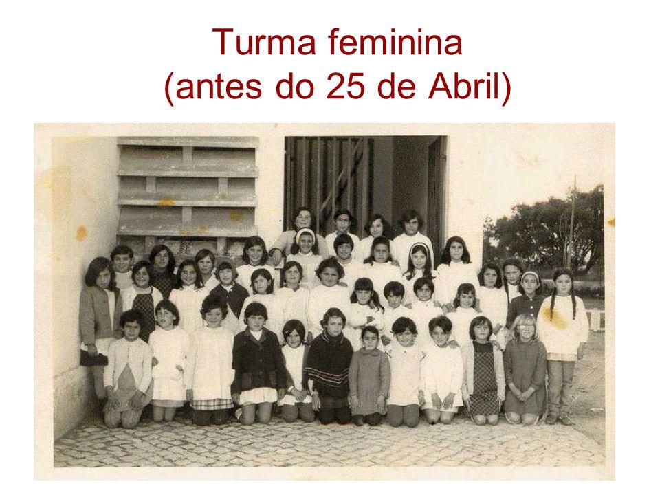 Turma feminina (antes do 25 de Abril)