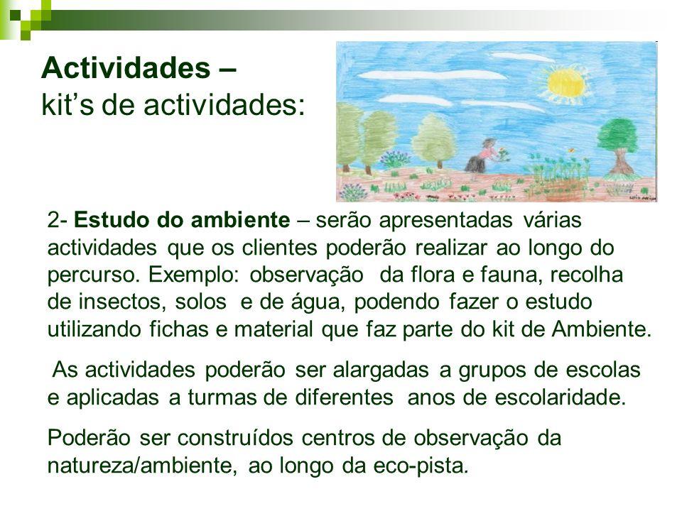 Actividades – kit's de actividades: