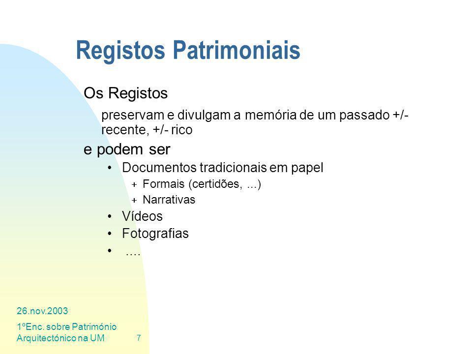 Registos Patrimoniais