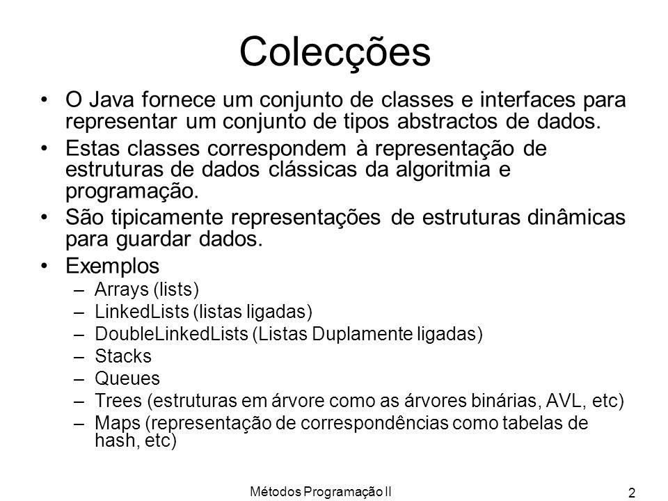 Métodos Programação II