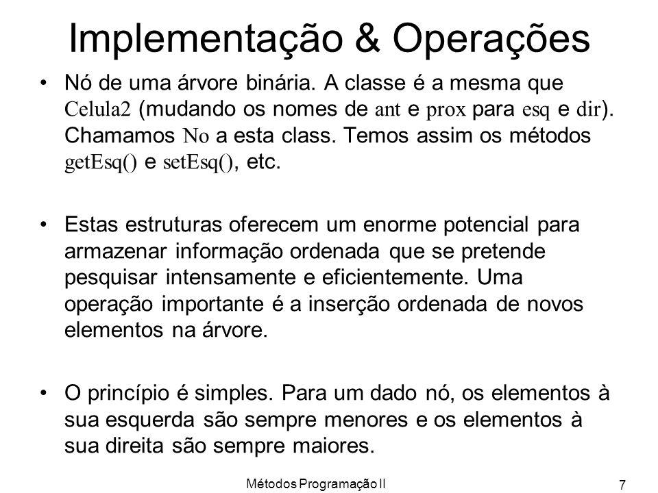 Implementação & Operações