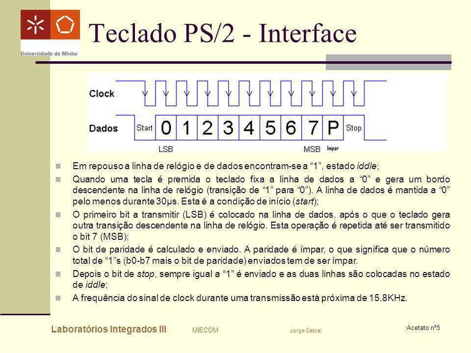 Teclado PS/2 - Interface