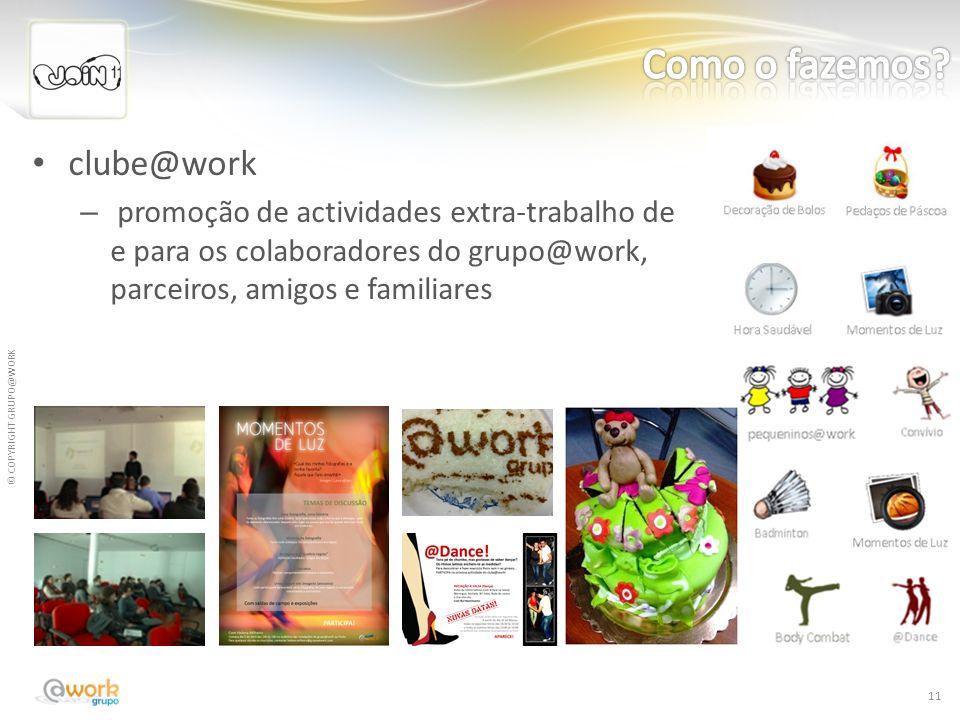 Como o fazemos clube@work
