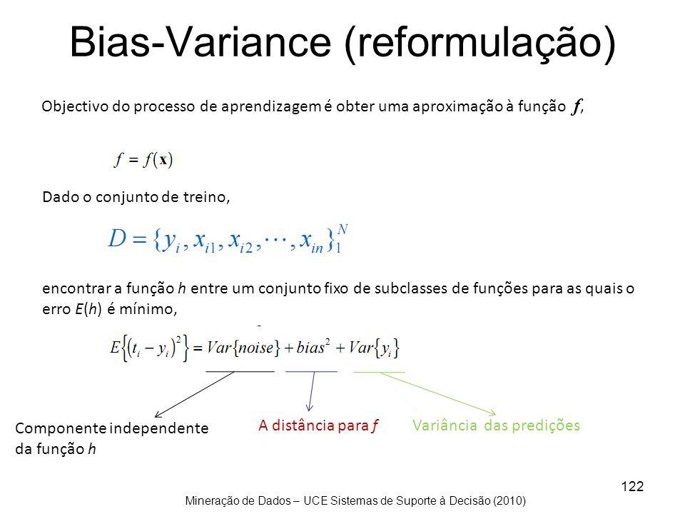 Bias-Variance (reformulação)