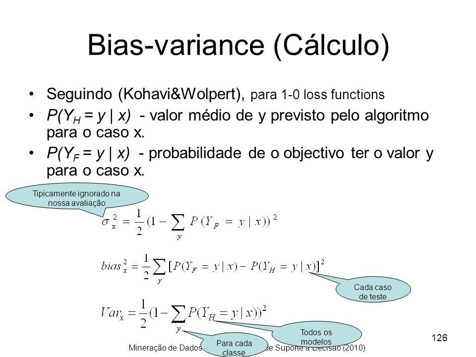 Bias-variance (Cálculo)