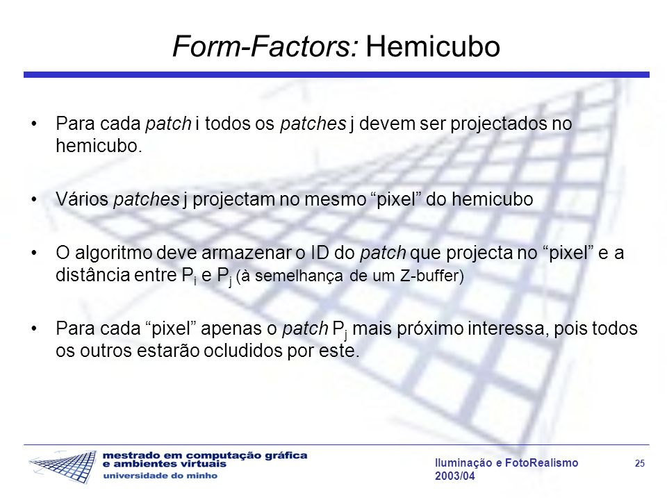 Form-Factors: Hemicubo