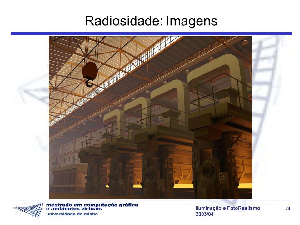 Radiosidade: Imagens