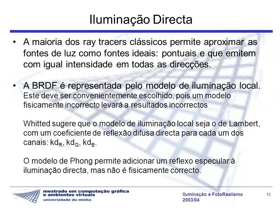 Iluminação Directa